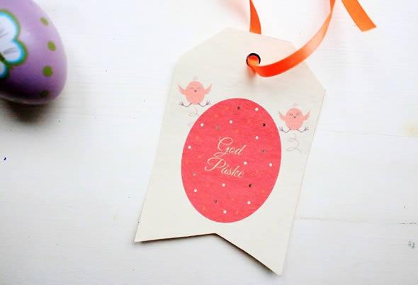 Etiquetas Personalizadas para Lembrancinhas de Páscoa com Moldes