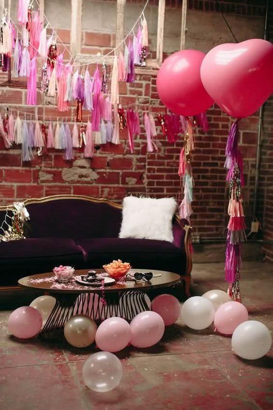 20 Ideias para Decoração de Dia das Mães com Balões