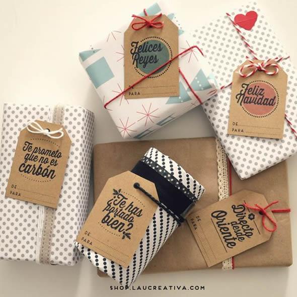 10 embalagens lindas para presentes de dia das m es - Regalos navidad para padres ...