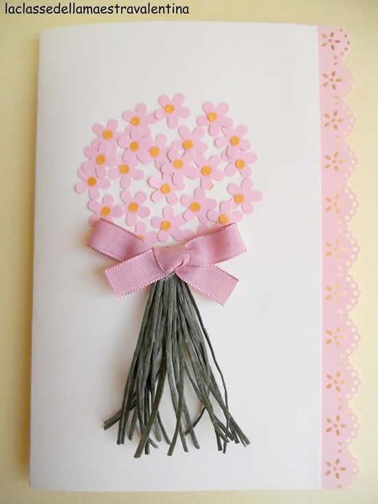 10 Formas de fazer Cartão para o Dia das Mães com Crianças