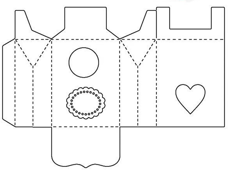 10 Caixinhas com Moldes para o Dia das Mães