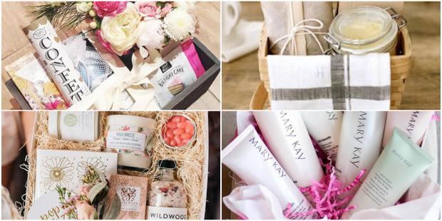 10 Cestas de Banho para Dia das Mães