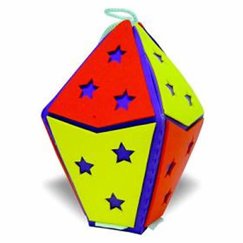Como fazer Balão de EVA com Molde