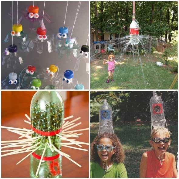Brinquedos Reciclados Com Garrafa Pet Como Fazer Em Casa