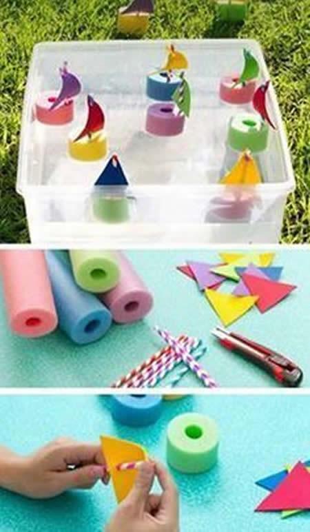 Brinquedos com Material Reciclado Fáceis de Fazer