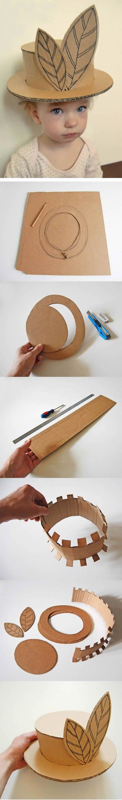 Brinquedos com Caixa de Papelão