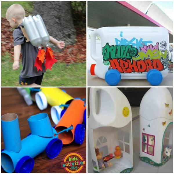 Brinquedos com Reciclagem de Garrafa PET