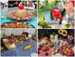 Decoração para Festa Junina de Baixo Custo