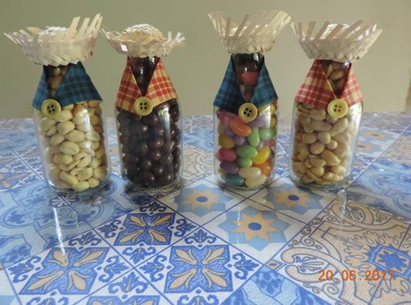 Enfeites para Festa Junina com Sucata