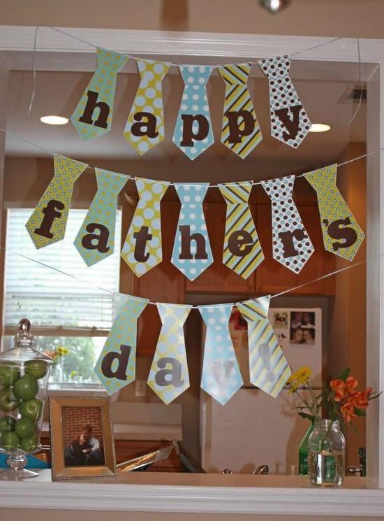 Decoração para Festa Dia dos Pais