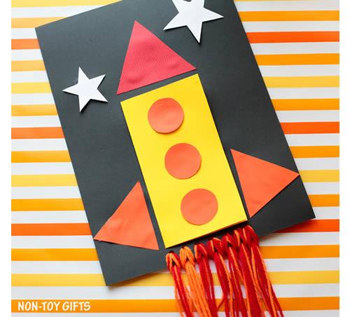 Cartão Infantil para o Dia dos Pais com Moldes