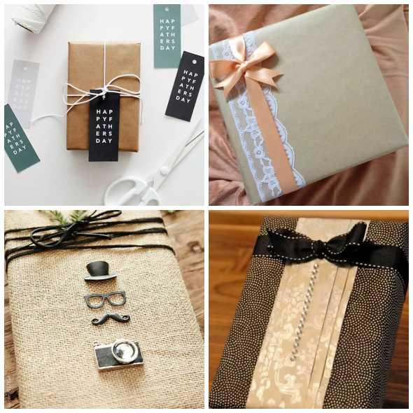 Embalagens para Presentes de Dia dos Pais