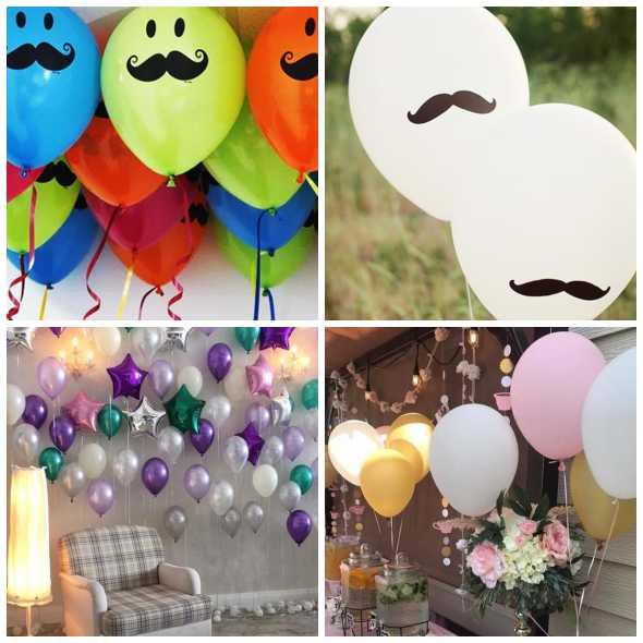 Enfeites com Balões para o Dia dos Pais
