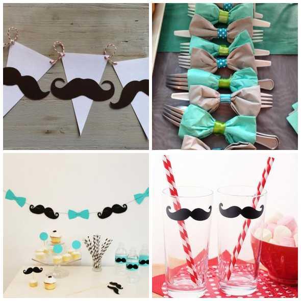 Enfeite Criativos para Festa Dia dos Pais