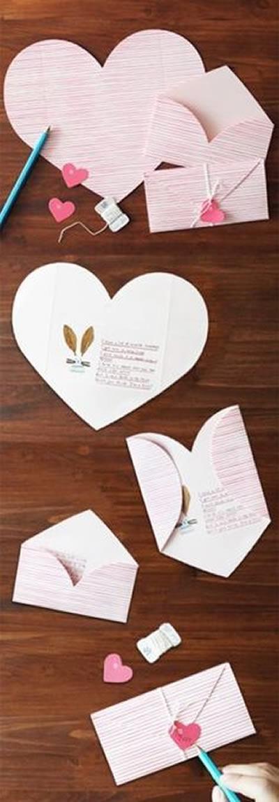 Como Fazer Envelopes Diferentes de Papel