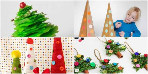 Decoração de Natal para fazer com Crianças