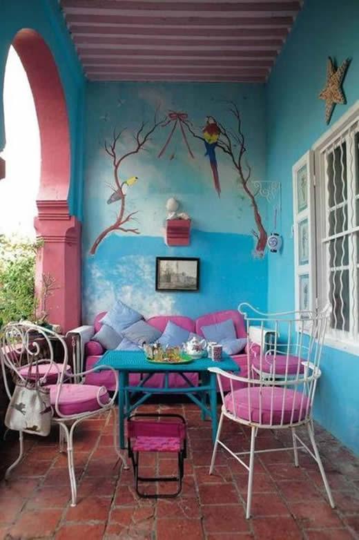 20 ideias para decorar a varanda pequena da casa