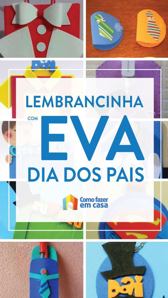 Lembrancinhas em EVA para o Dia dos Pais