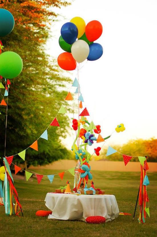Decoração para Dia das Crianças