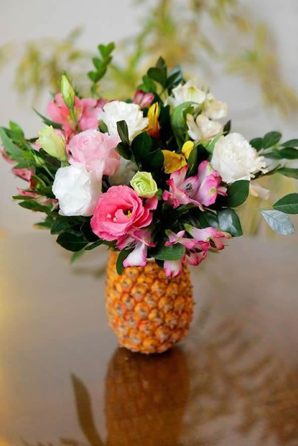 Ideias de Decoraç u00e3o para Festa Tropical Como fazer em casa -> Decoração De Festa Havaiana Simples