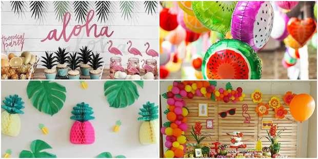 Ideias de Decoração para Festa Tropical