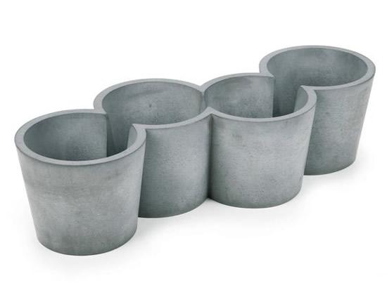 Vasinhos de Cimento para Suculentas