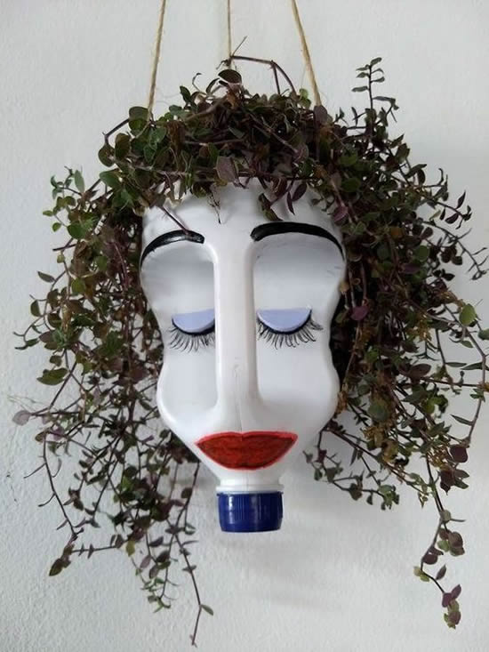 Ideias Sustentáveis para fazer Vasos de Plantas