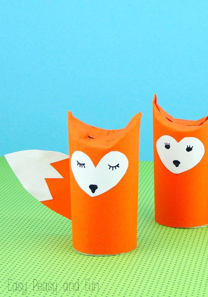 raposinhas Brinquedos de papel reciclado (8)