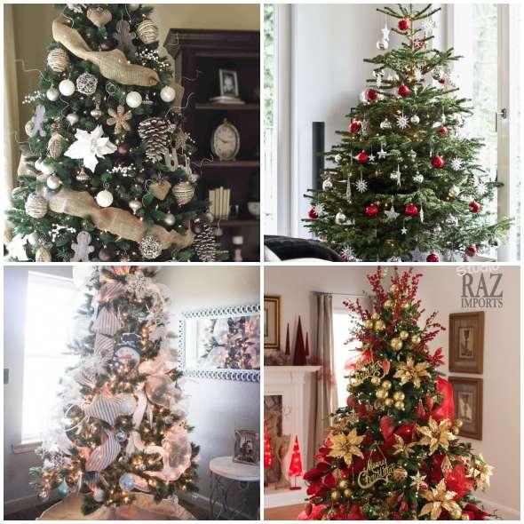Lindas Árvores de Natal para fazer em Casa