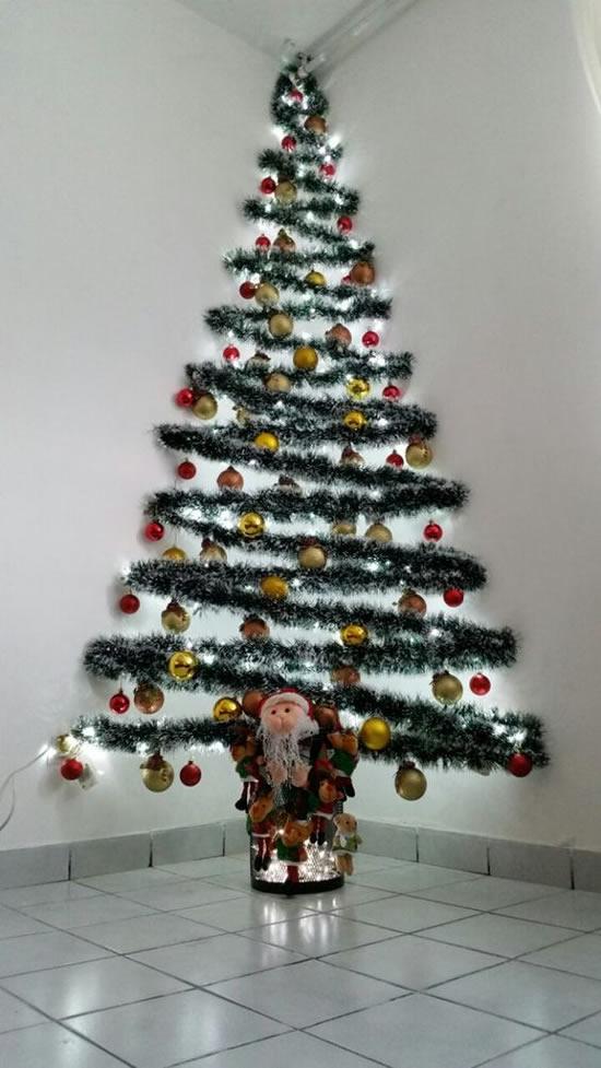 Árvores de Natal Lindas e Diferentes