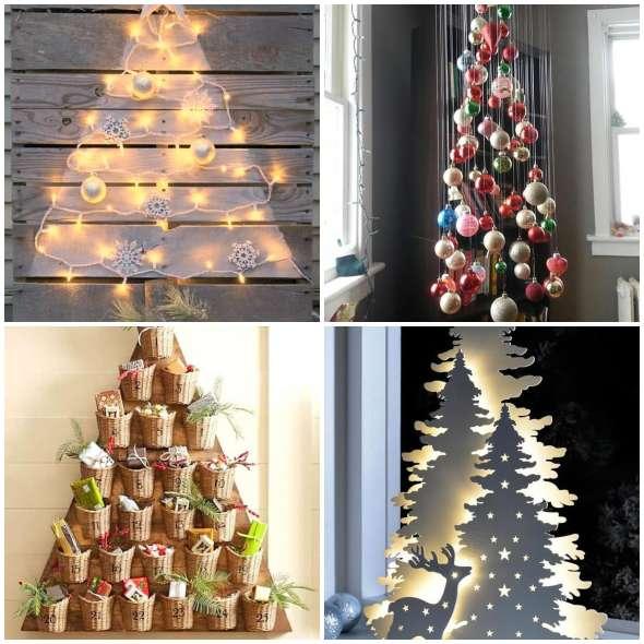 Árvores de Natal Criativas e Diferentes