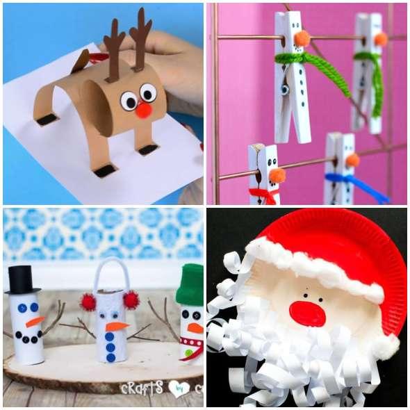Artesanatos Lindos para fazer com as Crianças no Natal