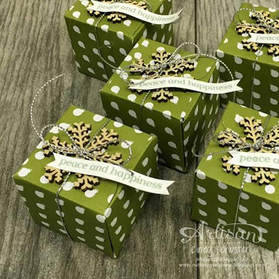 Caixinha de Natal com Moldes