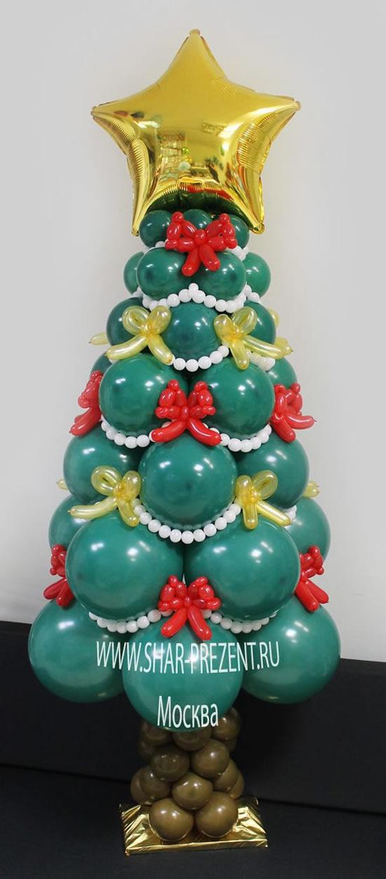 Árvore de Natal com Balões
