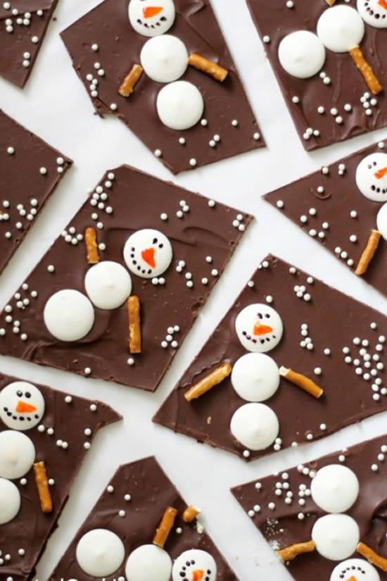 Doces e Cupcakes Decorados para o Natal