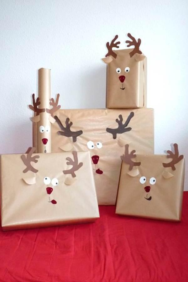 embalagens criativas de presente de natal
