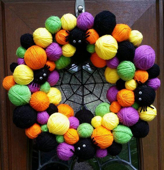 guirlanda de halloween com bola de isopor (20)