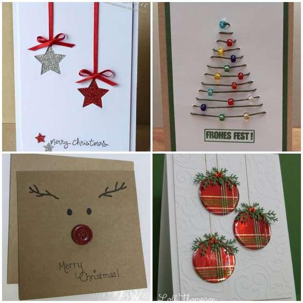 Lindos Cartões de Natal Baratos e Criativos