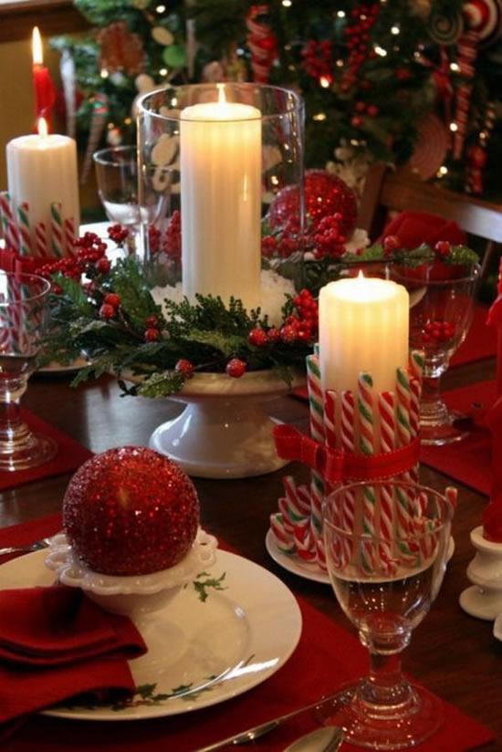 Mesas de Natal Decoradas