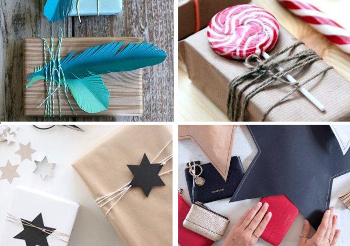 embalagens de presentes criativas