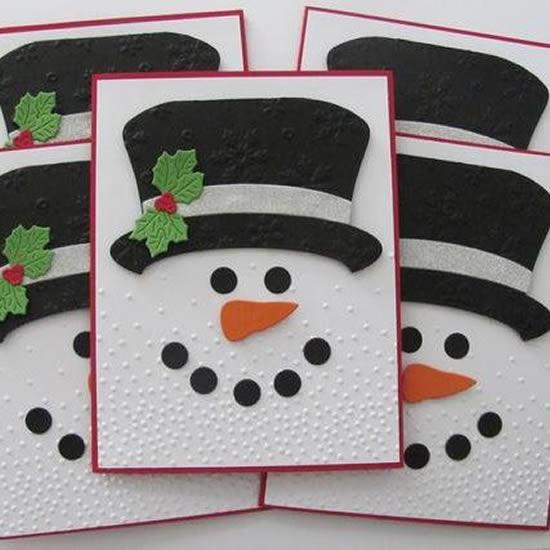 12 ideias de como fazer Cartão de Natal