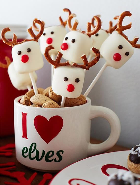 Comidas e Doces para Mesa de Natal