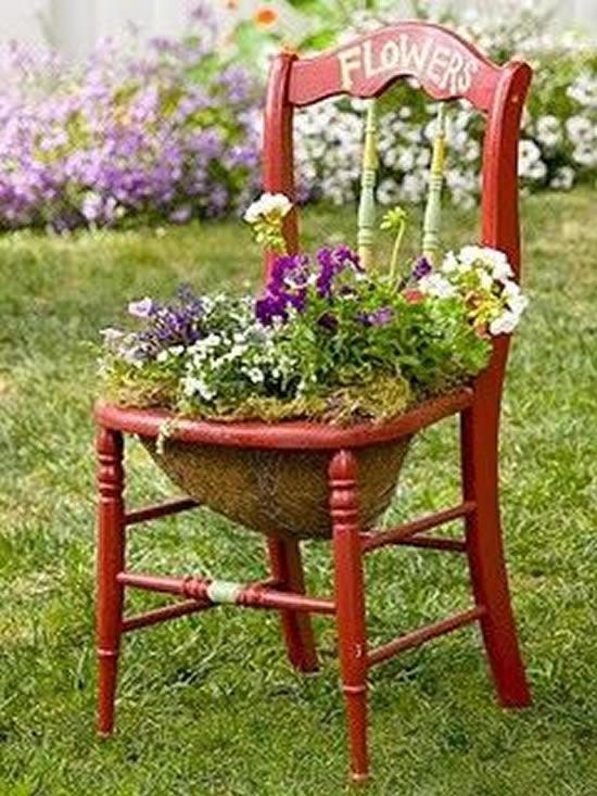 13 Maneiras Criativas para Plantar no Jardim