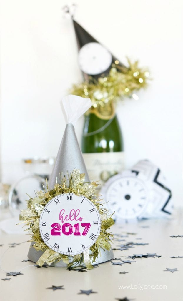 Chapéu de festa para ano novo