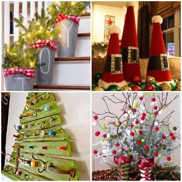 Enfeites de Natal Fáceis, Baratos e Criativos