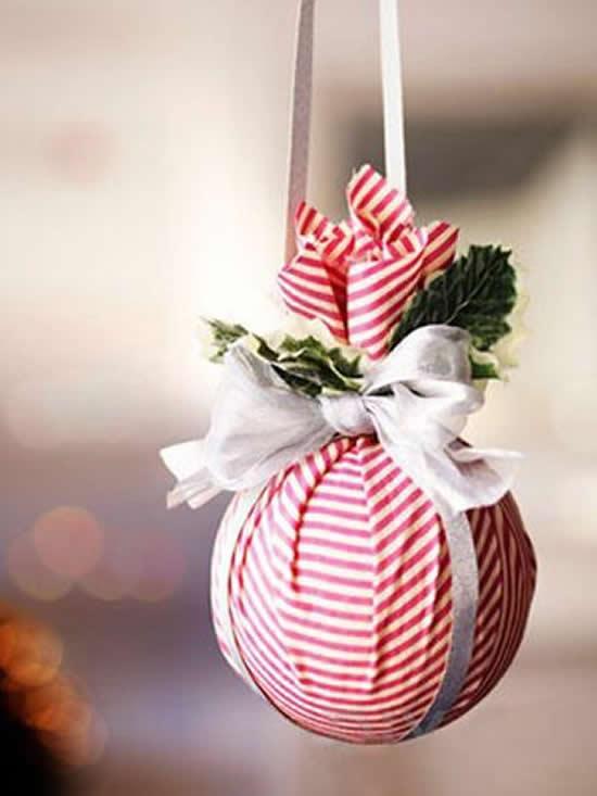 Enfeites de Tecido para Natal