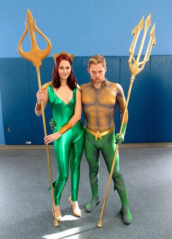 Fantasia Criativa de Aquaman
