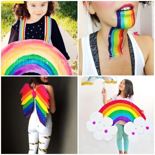 Fantasias Criativas de Arco-íris