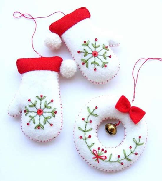 Mimos em Feltro para o Natal