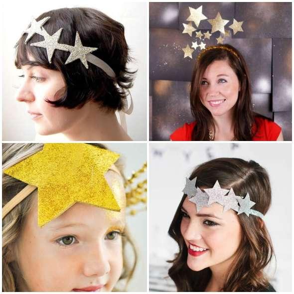 Tiara de Estrelas para Carnaval